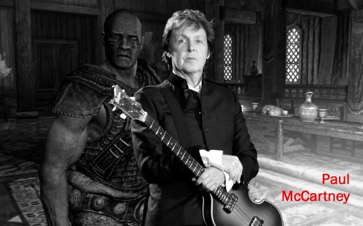 McCartney video game music OST 2012