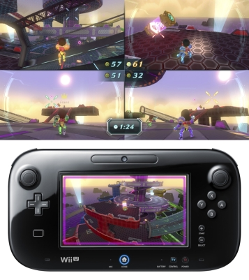 Nintendo Land Metroid Blast screenshots a07