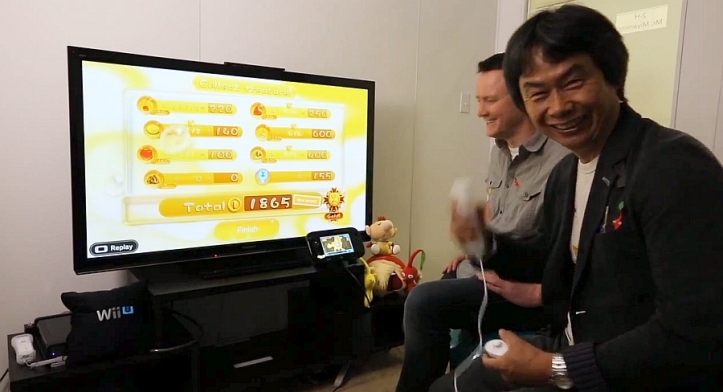 Pikmin 3 Miyamoto