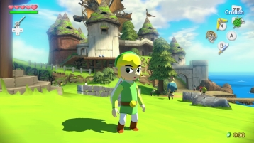 Zelda The Wind Waker HD Wii U images 01