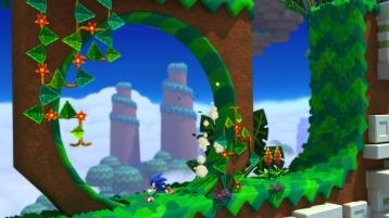 Sonic Lost World screenshots Wii U 11
