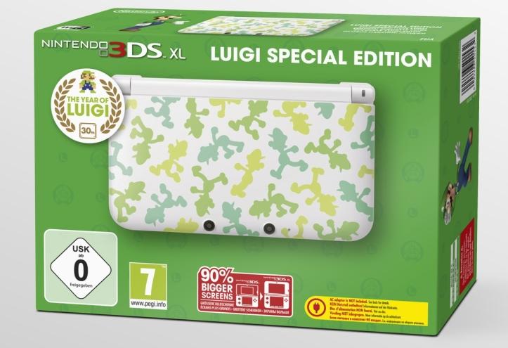Nintendo 3DS special edition luigi