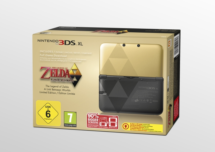 Nintendo 3DS special edition zelda a link between worlds 01