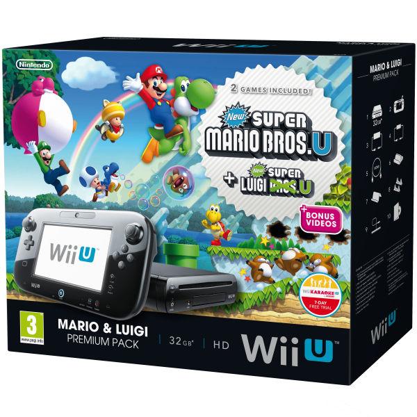 Wii U New Pack Mario & Luigi