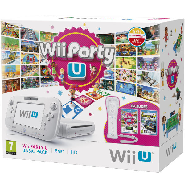 Wii U New Pack Wii Party U
