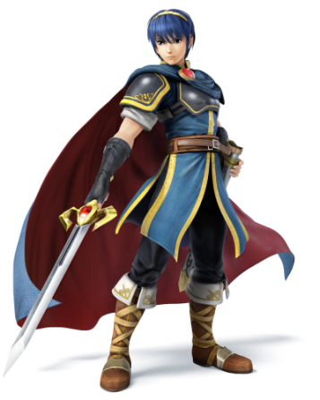 Marth Super Smash Bros Wii U 3DS 01