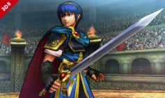 Marth Super Smash Bros Wii U 3DS 11