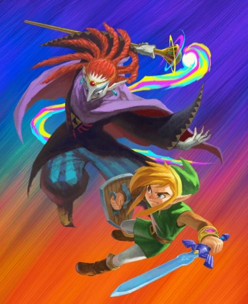 The Legend of Zelda A Link Between Worlds artwork 01
