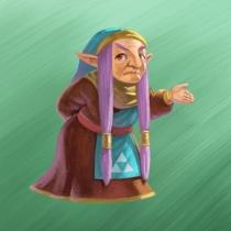 The Legend of Zelda A Link Between Worlds artwork 03
