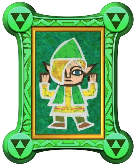 The Legend of Zelda A Link Between Worlds artwork 13