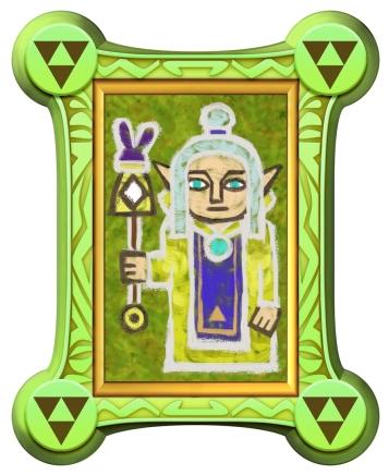 The Legend of Zelda A Link Between Worlds artwork 16