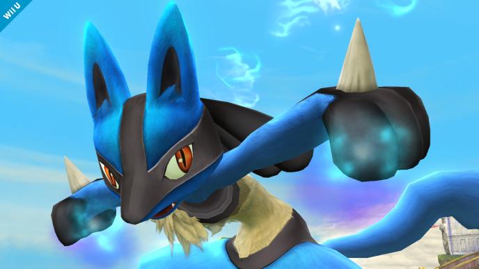 Super Smash Bros Wii U 3DS Lucario screenshots 02