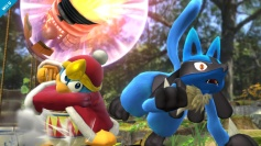 Super Smash Bros Wii U 3DS Lucario screenshots 08