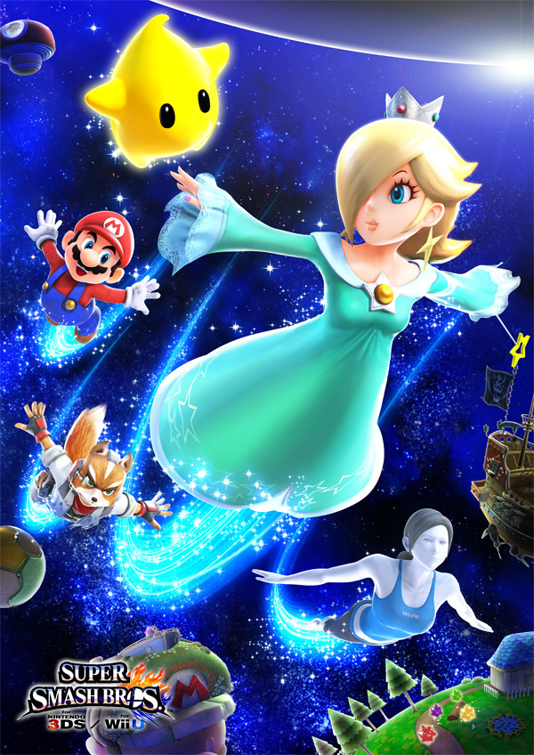 Super Smash Bros Wii U & 3DS rosalina luma