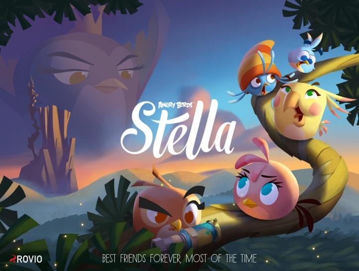 Angry Birds Stella Rovio