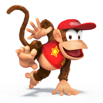 Diddy Kong Super Smash Bros Wii U & 3DS screenshots 01