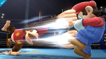 Diddy Kong Super Smash Bros Wii U & 3DS screenshots 02