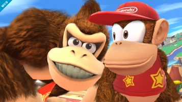Diddy Kong Super Smash Bros Wii U & 3DS screenshots 03