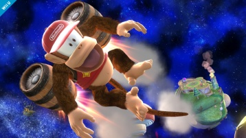 Diddy Kong Super Smash Bros Wii U & 3DS screenshots 04