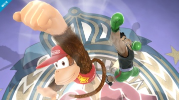 Diddy Kong Super Smash Bros Wii U & 3DS screenshots 05