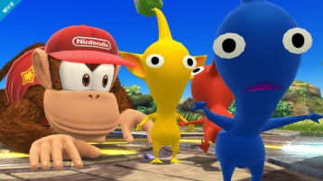 Diddy Kong Super Smash Bros Wii U & 3DS screenshots 06