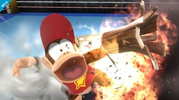 Diddy Kong Super Smash Bros Wii U & 3DS screenshots 07