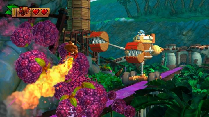 Donkey Kong Country Tropical Freeze Wii U screenshots 09