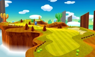 Mario Golf World Tour artworks 07