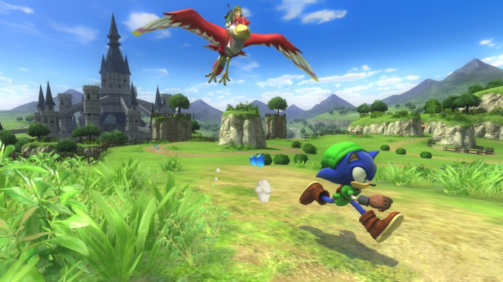 Sonic Lost World Zelda dlc