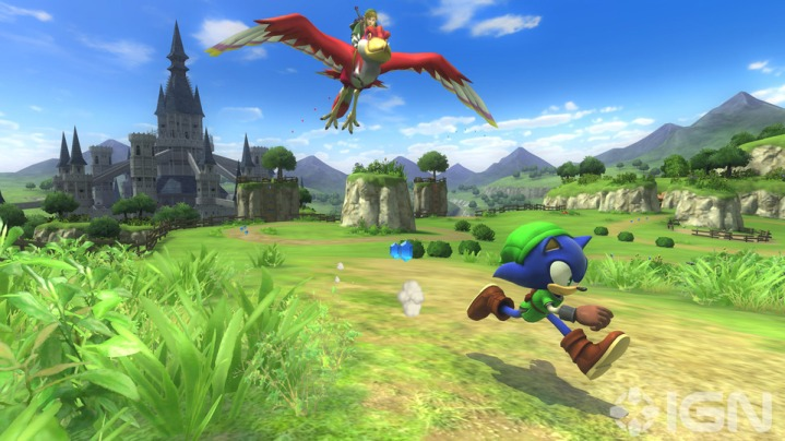 Sonic Lost World Zelda Zone screenshots 07