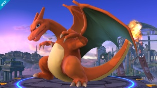 Charizard Super Smash Bros Wii U 3DS screenshot 01