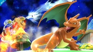 Charizard Super Smash Bros Wii U 3DS screenshot 02