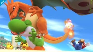Charizard Super Smash Bros Wii U 3DS screenshot 03