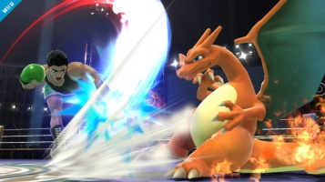 Charizard Super Smash Bros Wii U 3DS screenshot 04