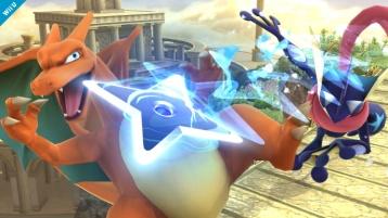 Charizard Super Smash Bros Wii U 3DS screenshot 05