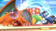 Charizard Super Smash Bros Wii U 3DS screenshot 07