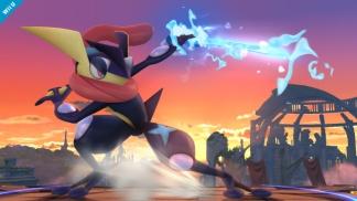 Greninja Smash Bros screenshot 01