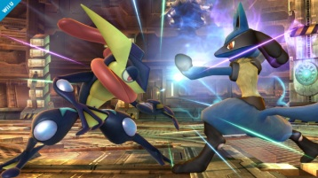 Greninja Smash Bros screenshot 06