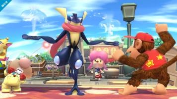 Greninja Smash Bros screenshot 07