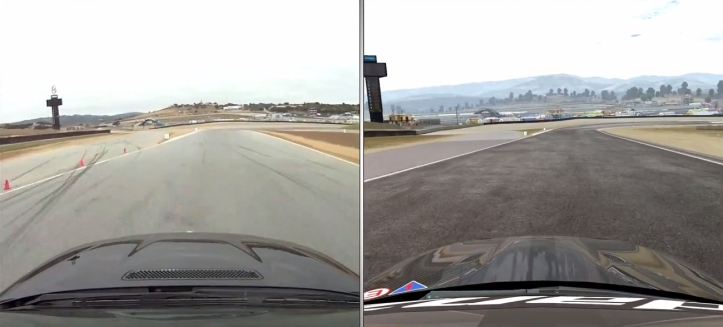 Project CARS vs real life