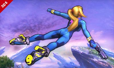 Zero Suit Samus smash bros screenshots 10