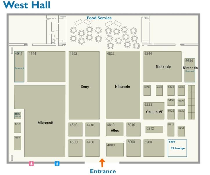 E3 2014 west hall