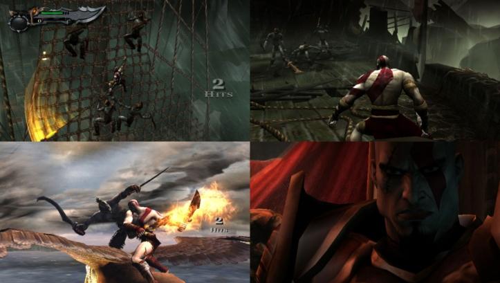 God of War Collection PS Vita screenshots