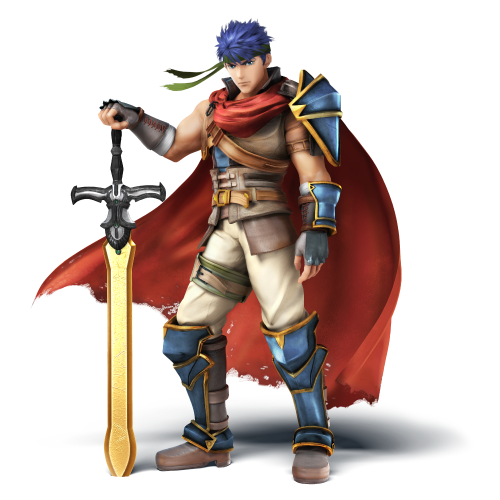 IKE Super Smash Bros Wii U and 3DS