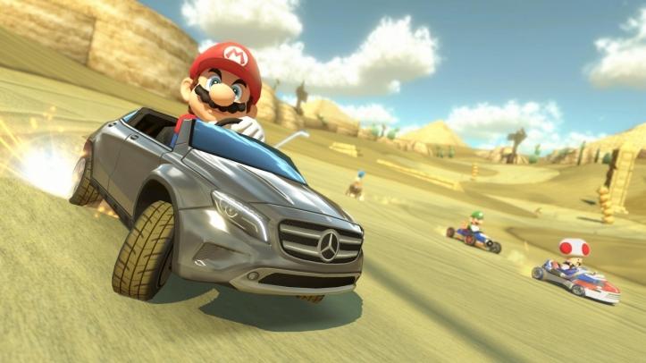 Mario Kart 8 Mercedes images 02