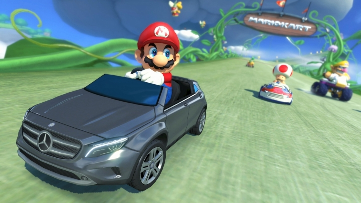 Mario Kart 8 Mercedes images 03