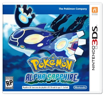 Pokémon Omega Ruby Alpha sapphire 3DS