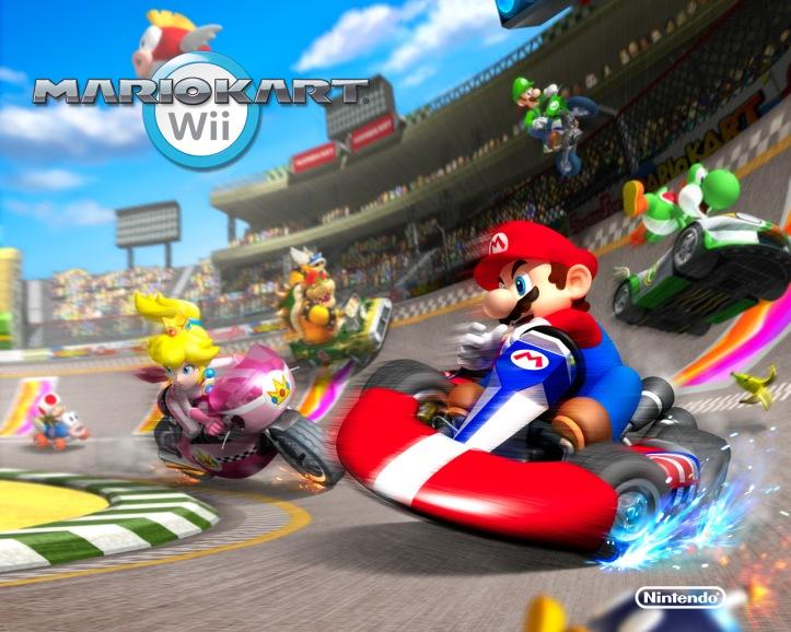 wallpaper Mario Kart Wii