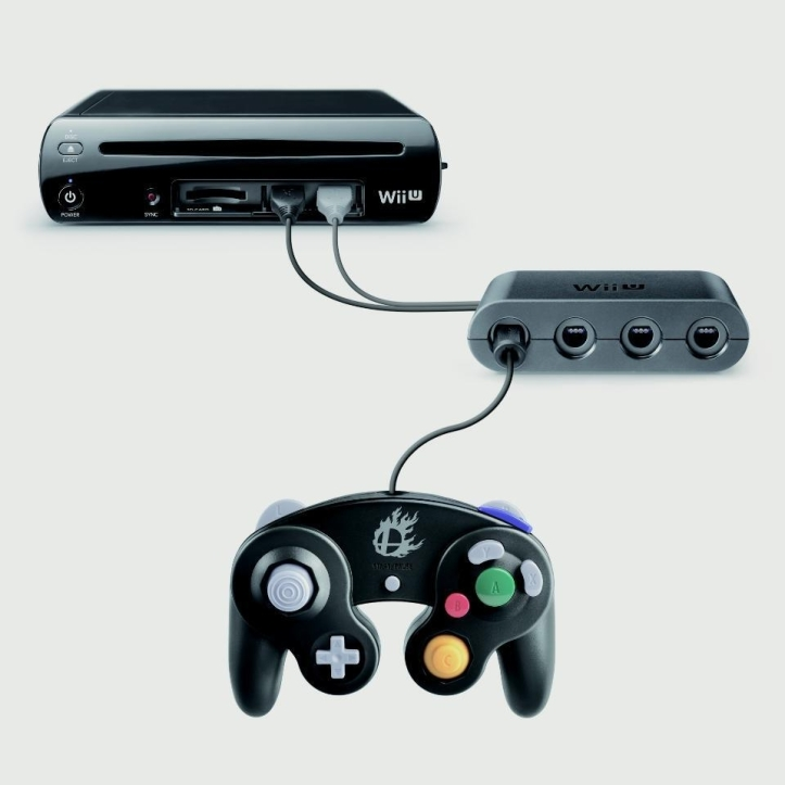 GameCube controller for Wii U 02