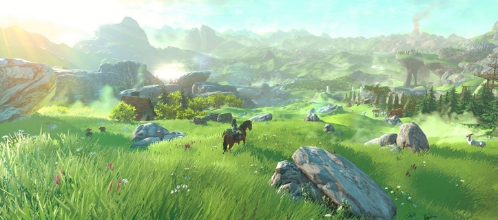 The Legend of Zelda Wii U hyrule field